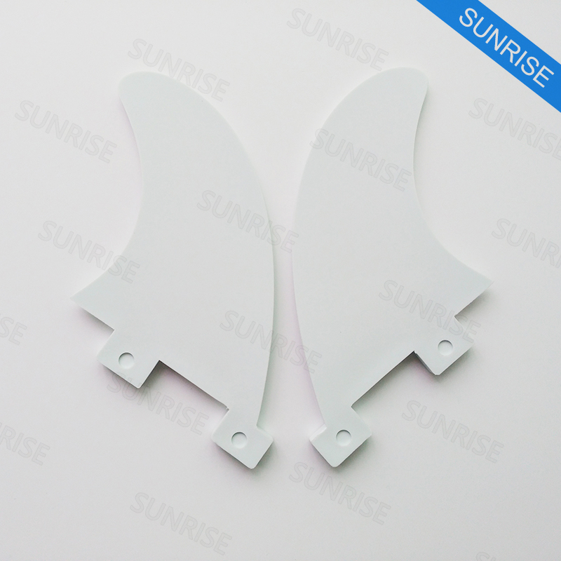 FCS GL Fin White Surfboard Fins GL med Key Hot Sale Surfboard FCS - Vattensporter