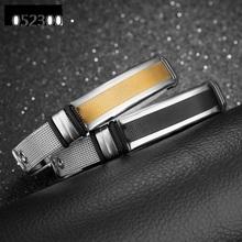 Mens bracelet, stainless steel mesh belt, adjustable bangle,fashion jewelry accessories wholesale,TY0523004