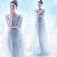 Fashion Cosplay Flavor new arrival maternity clothes perspectivity fashion aesthetic sexy wedding Maternity Dress