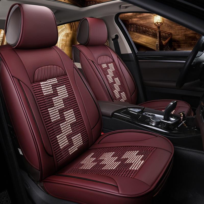 Car Seat Covers Cushion Set Auto Mat For AUDI A4L A6L Q3