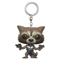 Guardians of The Galaxy Mini Figures Keychains: Groot, Rocket Raccoon and Star Lord 3
