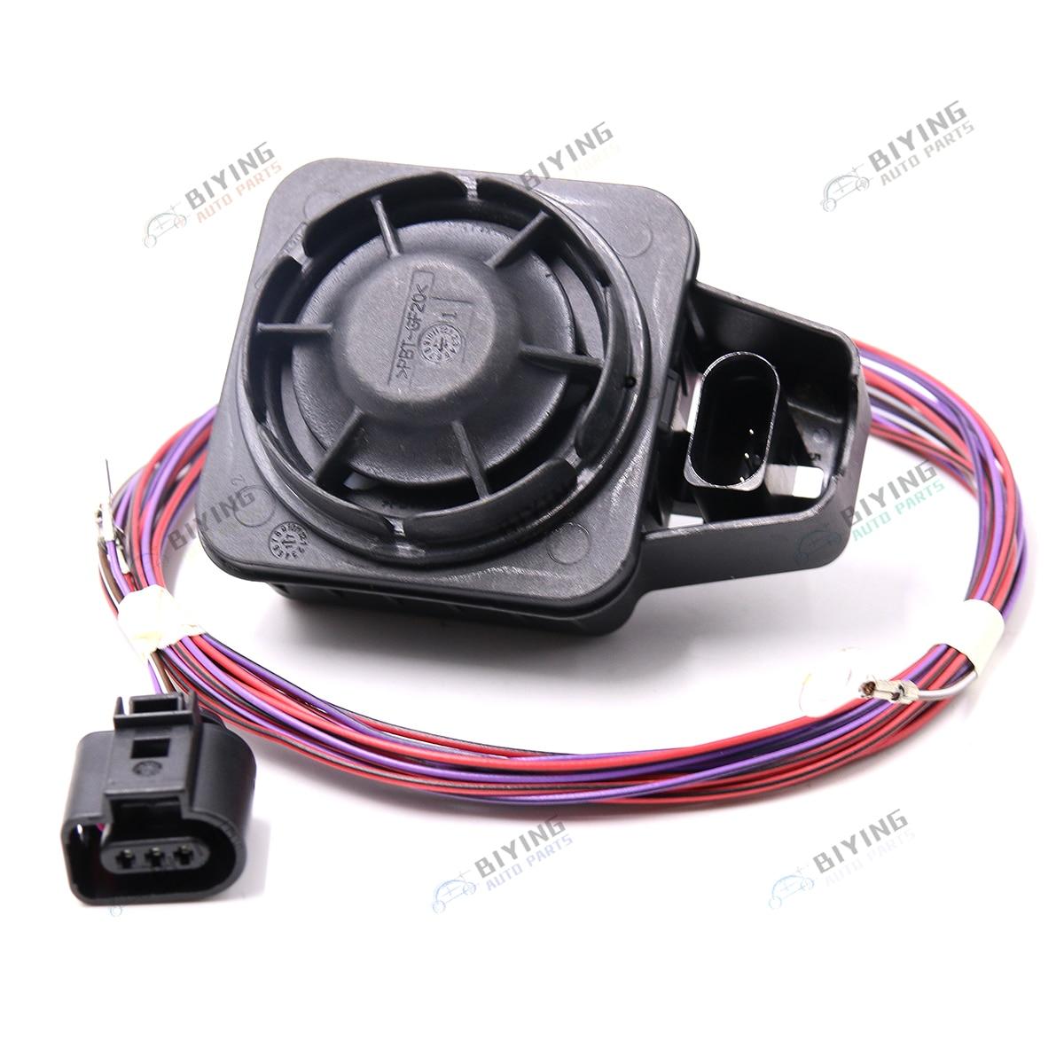 Voiture de Sécurité sirène d'alarme corne de haut-parleur Pour VW Golf 7 MK7 MQB Passat B8 Tiguan A3 8 V 5QD 951 605 5Q0951605