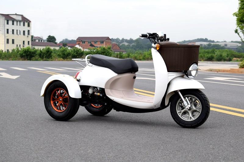 60 V 1000 W Citycoco trottinette électrique Plomb-acide Batterie Trois Tours de Moto motos électriques