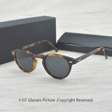 Gregory Peck Brand Designer men women Sunglasses Vintage Polarized sung