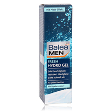 Germany Balea Men 24H Day Care Moisturizer Fresh Hydro Gel Hyaluronic Acid Moisturizing Face Cream Easily Absorbed No Greasing