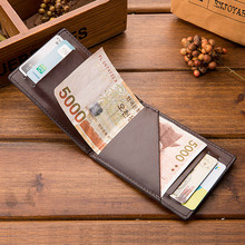 High quality luxury Women & Man Genuine Leather Card Holder Cowhide Slim Wallet Small Thin Package