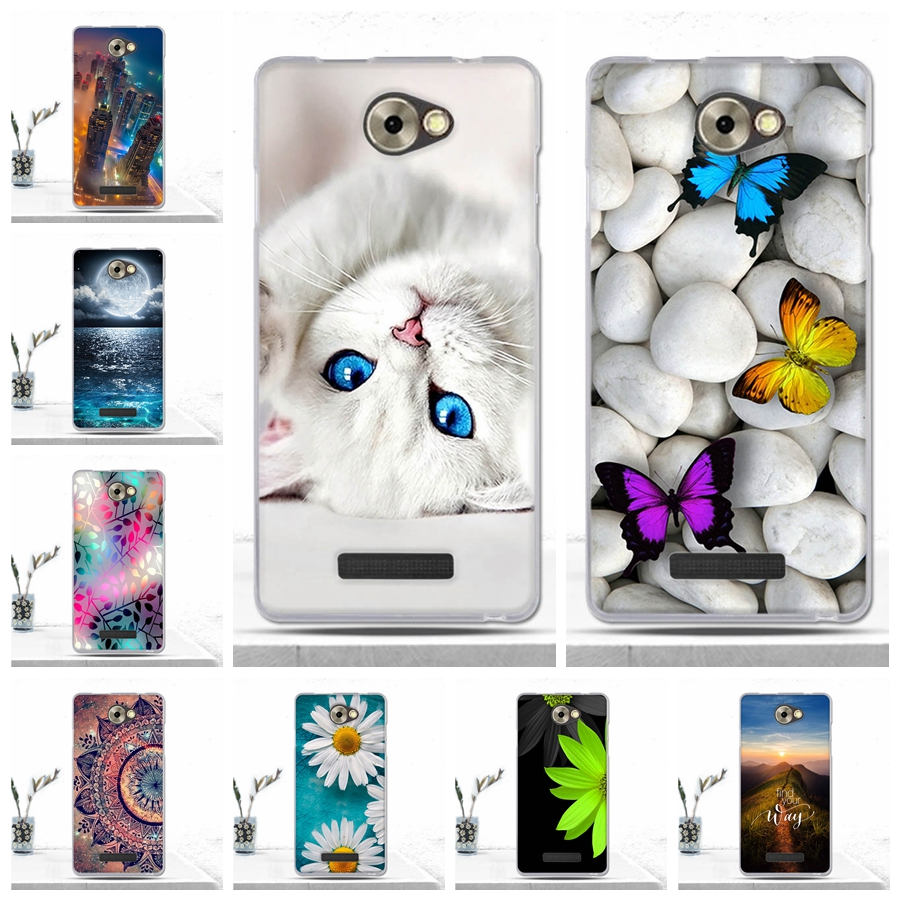 Case For BQ BQS-5070 Magic Mobile Phone Back Cover Printing Luxury Silicone Soft Fundas For BQ BQS 5070 BQS5070 Magic Case Coque