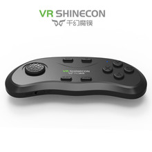 Newest VR Shinecon Original Bluetooth Remote Controller Wireless Gamepads Mouse Music Selfie 3D Games for Android iOS PC TV