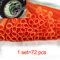 Motocross Dirt Bike Enduro Wheel RIM SPOKE Shrouds SKINS COVERS For HONDA125 YAMAHA 450 WR250