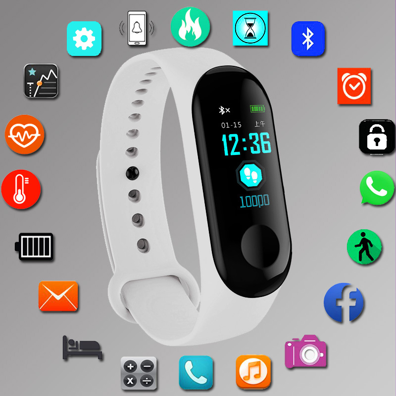 Bracelet Sport femmes intelligentes montres numérique électronique 2019 dames montre-Bracelet pour femmes horloge femme montre-Bracelet Hodinky Reloges
