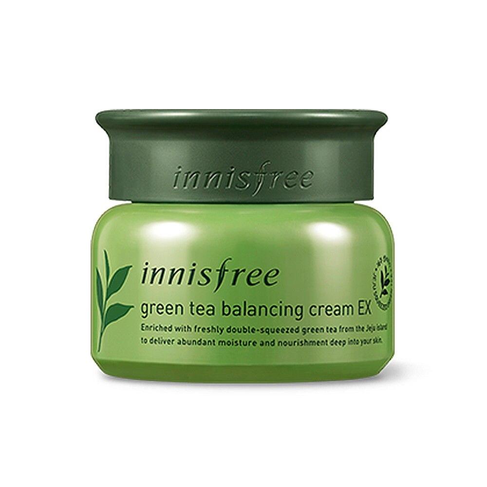 Korean Cosmetics Green Tea Balancing Cream EX 50ml Face Cream Facial Skin Care Whitening Cream Treatment Moisturizing Anti-aging