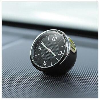 Bmw e 30 34 36 38 39 46 53 60 82 83 87 90 92 f 11 20 로고 미니 라운드 블랙 포인터 빛나는 자동차 시계 saat