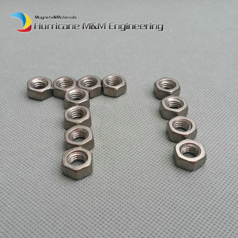 ФОТО Grade 5 Ti Nut M6 Titanium Flange Nut Ti color not polished dark grey titanium parts Ti fastener