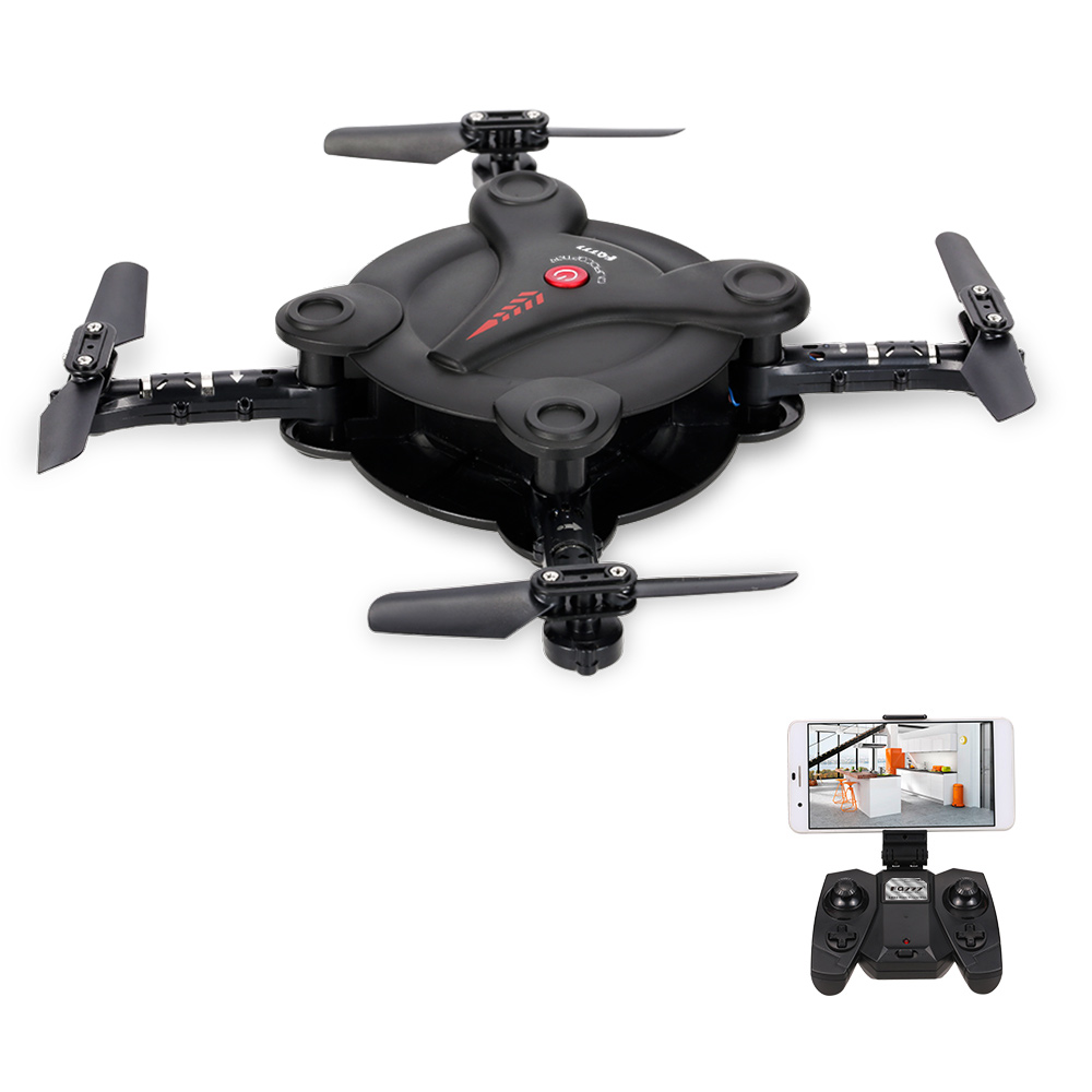 FQ777 FQ17W WIFI FPV Foldable Pocket Drone with 0.3MP Camera Altitude Hold Mode RC Quacopter BNF Version / With Transmitter