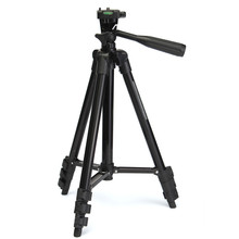 Portable Professional Aluminum FT-810 Telescopic Tripod Stand Holder For Digital Camera SLR DV Flexible With Carry Bag