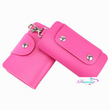 2016 Fanny New Casual Unisex Key Case Women/Men PU Leather Key Holder Case Wallets Housekeeper For Keys Organizer Manager D001