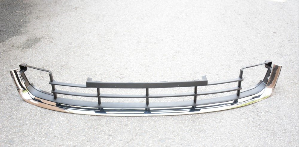 1 PC Front Lower Bumper Grille Chrome Mesh Grill Center For SKODA SUPERB 2009-2013