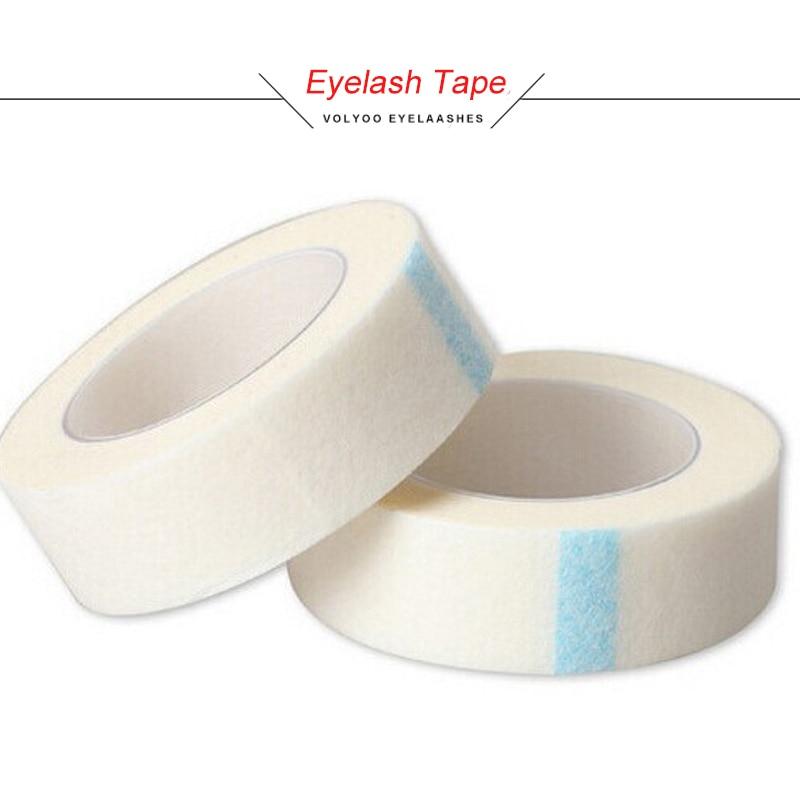 VOLYOO 20Pcs/set Top Quality Non-woven Wrap Tape 1.25cm*9m Size 3M Eye Pads For Eyelash Extension Makeup Eyelashes Tools