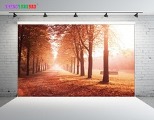 SHENGYONGBAO Art Cloth Digital Printed Backdrops for Photography  Horizontal Forest theme Photo Studio Background SZ-71 цены