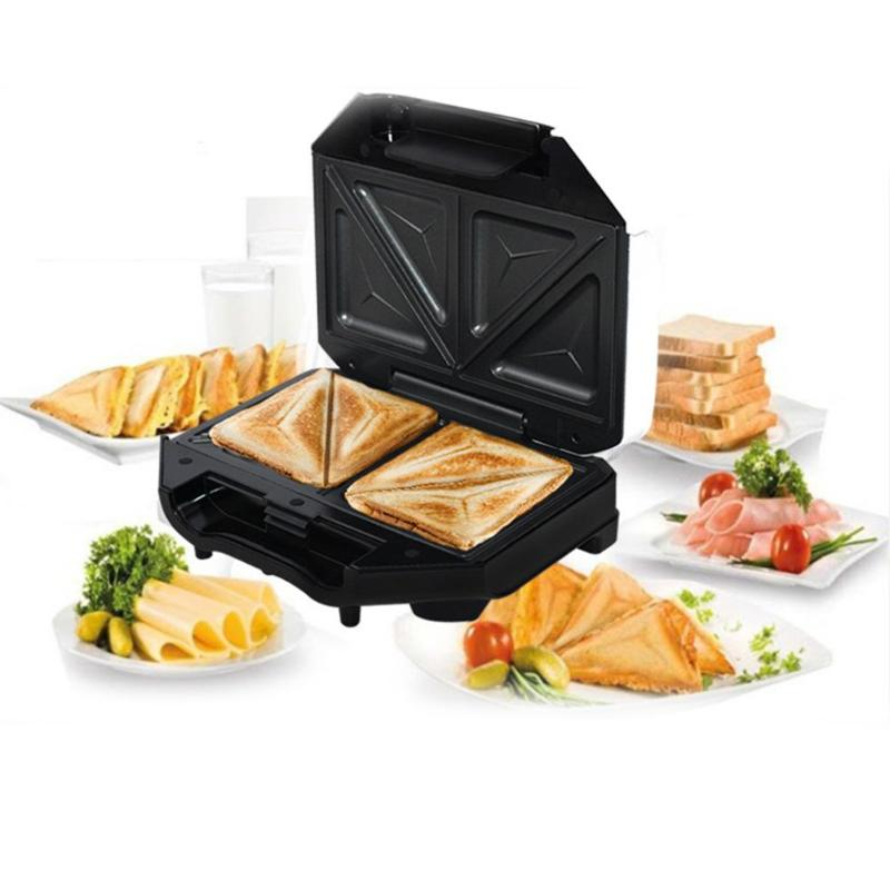 Electric Sandwich Waffle Maker BBQ Grilling Plate Toaster Breakfast Machine Barbecue Oven Bread Maker Multicooker Kitchen Grill