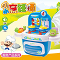 New Children Kitchen Toys For Children Cooking Toys Kids Pretend Play Sets Toys with Light Sound Effect for Kids Holiday gifts