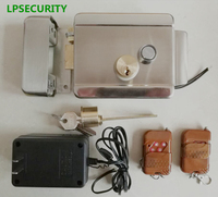 LEPSECURITY 2 Remote control switch Electric Control Door Lock For 12V DC Access Intercom Control System