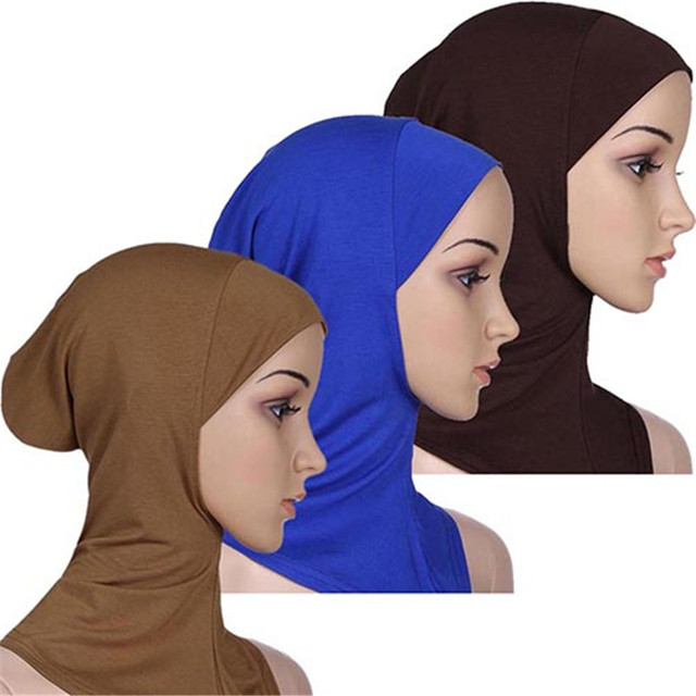 Soft Muslim Full Cover Inner Women's Hijab  1