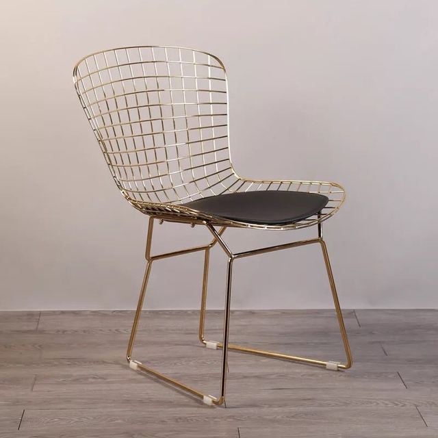 mid century modern wire chair slim high free shipping u best reproduction bikini collection