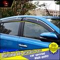 4 Pçs/set estilo do carro Proteção Contra Chuva Escudo Viseira do windows Capa Para Toyota RAV4 2014-2016 Acrílico Da Janela Chuva Viseira decorar carro