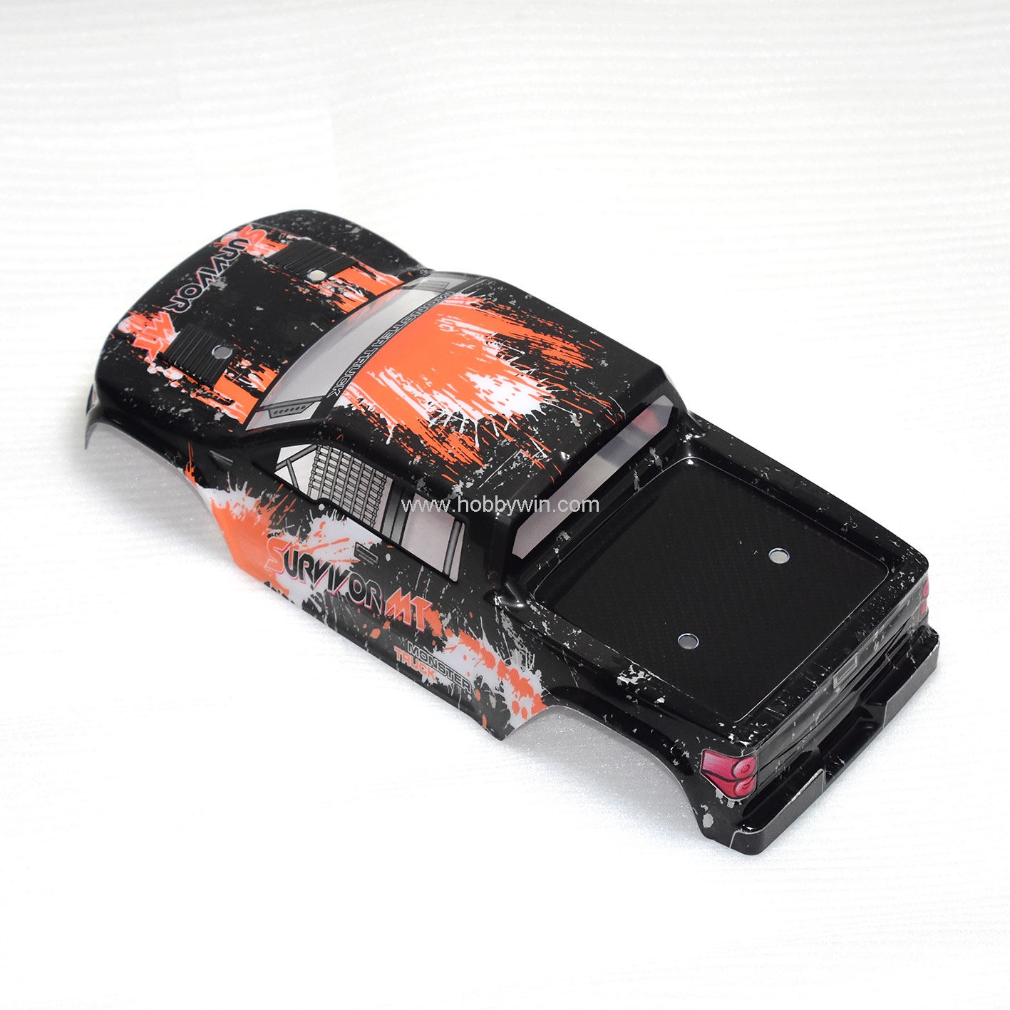 HBX Part 12687 Truck Body Shell Orange For 1/12 RC Scale Model Buggy Crawler Truck 12811B 12812 12813