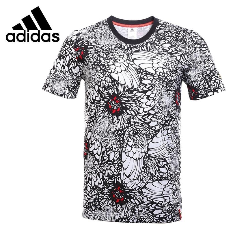 Original New Arrival 2017 Adidas CNY PRINT TEE Men's T-shirts short sleeve Sportswear original new arrival adidas rs ss tee m men s t shirts short sleeve sportswear