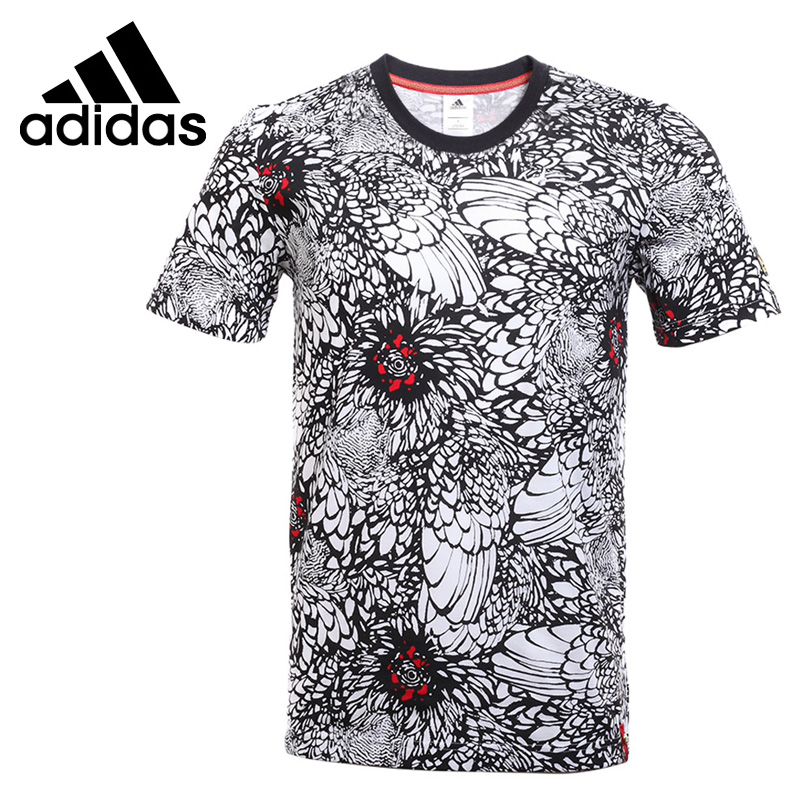 original new arrival 2017 adidas cny print tee men 39 s t. Black Bedroom Furniture Sets. Home Design Ideas