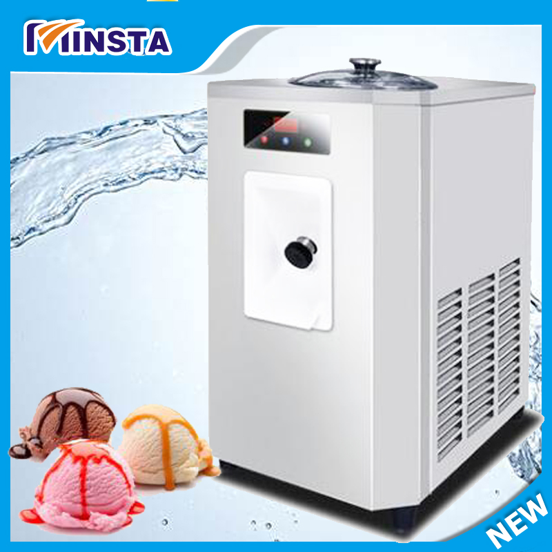 Commercial desktophard  ice cream machine Stainless Steel sweet ice cream cone 2017 auto ice cream maker edtid new high quality small commercial ice machine household ice machine tea milk shop