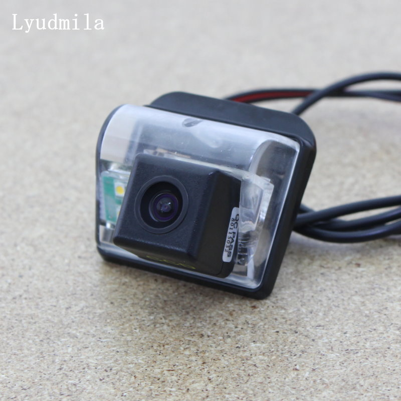 Lyudmila For Mazda CX-5 CX 5 CX5 2012~2017 Reversing Back up Camera / Car Parking Camera Rear View Camera / HD CCD Night Vision lyudmila car intelligent parking tracks camera for mazda 6 mazda6 m6 sedan 2013 2017 hd car back up reverse rear view camera