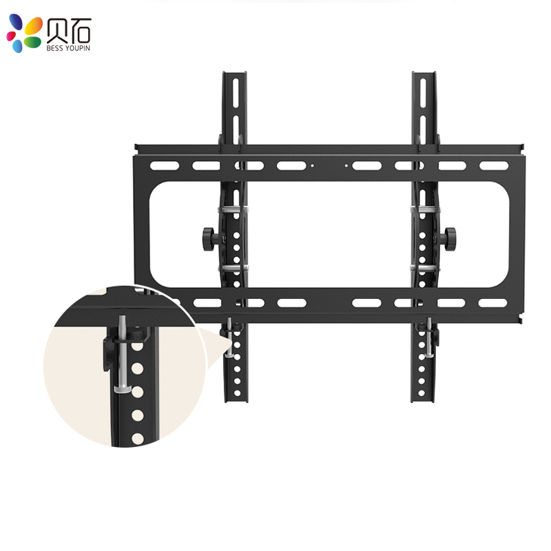 Tilt TV Wall Mount Bracket for Most 26-55 inches LED, LCD, OLED Flat Screen TVs up to 110lbs with VESA 100x100mm to 400x400mm