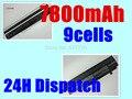 Black 7800mAH Battery For Asus Eee PC EPC 1215 PC 1215B 1215N 1015b 1015 1015bx 1015px 1015p A31-1015 A32-1015 AL31-1015