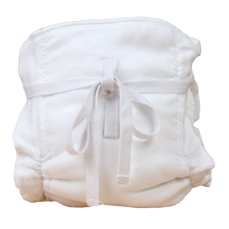 Baby Reusable Cloth Diaper Cover Baby 6 layers Muslin Cotton Washable Gauze Diapers Pocket Cloth Breathable Nappies 1PC