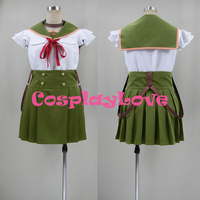 New Custom Made Japanese Anime School Live! Kurumi Ebisuzawa Cosplay Costume Christmas Halloween High Quality