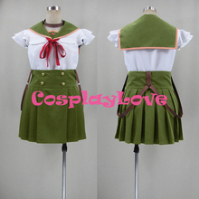 New Custom Made Japanese Anime School-Live! Kurumi Ebisuzawa Cosplay Costume Christmas Halloween High Quality