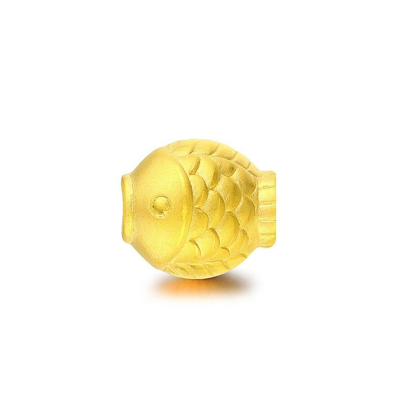 Authentic Real 999 24k Yellow Gold Lovely Fish Pendant J.Lee 0.8-1.2gAuthentic Real 999 24k Yellow Gold Lovely Fish Pendant J.Lee 0.8-1.2g