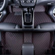 WLMWL Car Floor Mats For SEAT all model LEON Toledo Ateca IBL exeo arona car styling accessories Carpet Covers floor mats