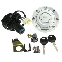 Motorbike Ignition Switch Lock Gas Cap Key Set for Yamaha YZF R1 2001 2007 YZF R6 2008 2012