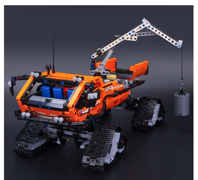 ФОТО 2016 New913pcs 20012 Technic Series Mechanical Group The Polar Adventure Vehicle Building Blocks Bricks Set Toys 42038