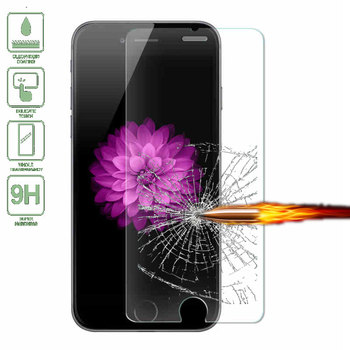 FRVSIMEM Front Explosion-Proof 9H 2.5D Tempered Glass for iPhone 5 5s SE 6 6s Plus 7 7 Plus 4 4s 5c Screen Protector Film