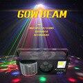 YA Yao Led мини-лампы для сцены DJ диско стробоскоп + лазер + узор + бабочка 4в1 эффект светильник для KTV диско DJ семейные вечерние рождественские