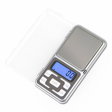 500g/0.1g Digital Portable Kitchen Scale Food  Pocket Scale for Jewelry Mini Electronic  Weight Lab Balance Case Postal Scales