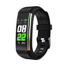 Timethinker R1 Waterproof Smart Bracelet Fitness Tracker Blood Pressure Heart Rate Monitor Colorful Screen Business