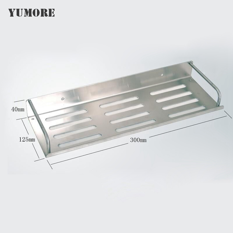 Top grade popular 304 stainless steel bathroom shelf bath - Bathroom shelves stainless steel ...
