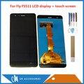 5 0 дюймов для Fly Cirrus 7 FS511 FS 511 ЖК-дисплей с сенсорным экраном дигитайзер черный цвет с инструментами лента