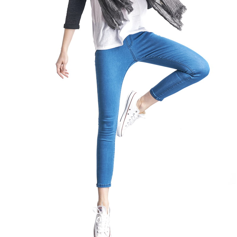 Casual Women   Jeans   Pant Slim Plus Size Denim Trousers for woman